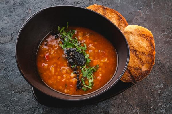 Goulash with lentils