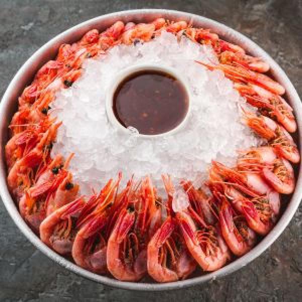 Magadan shrimp small platter