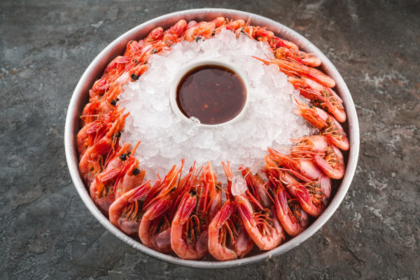 Magadan shrimp small platter