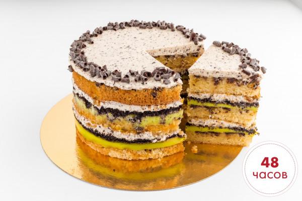 Мятное Трио торт