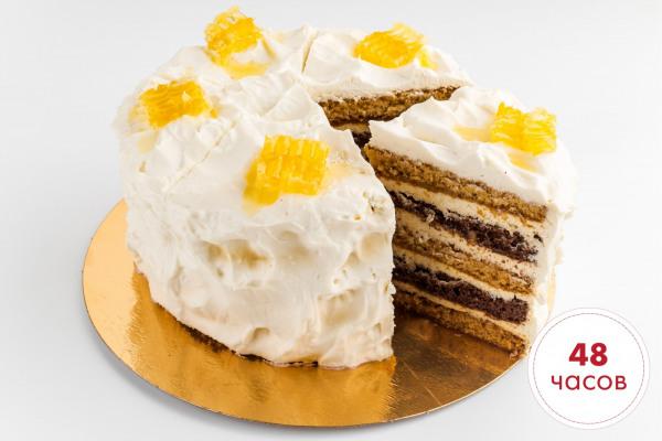 Мед и молоко торт 1,1 кг