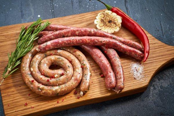 Колбаски из говядины Black Angus
