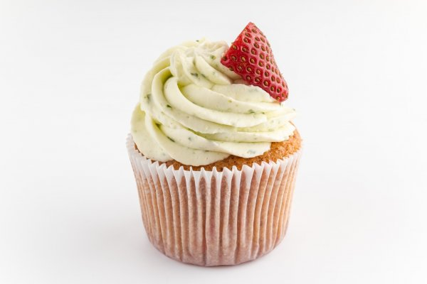 Big cupcake Strawberry & basil