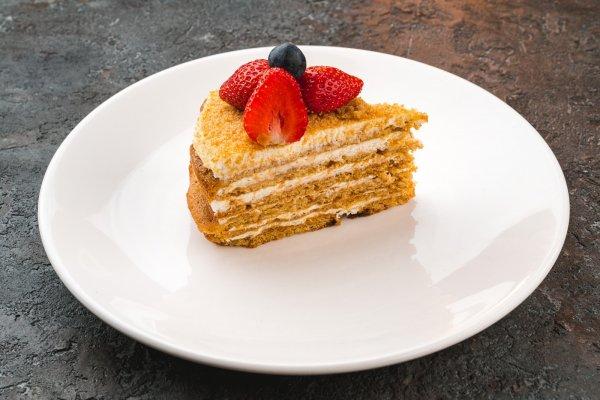 Sour-cream cake
