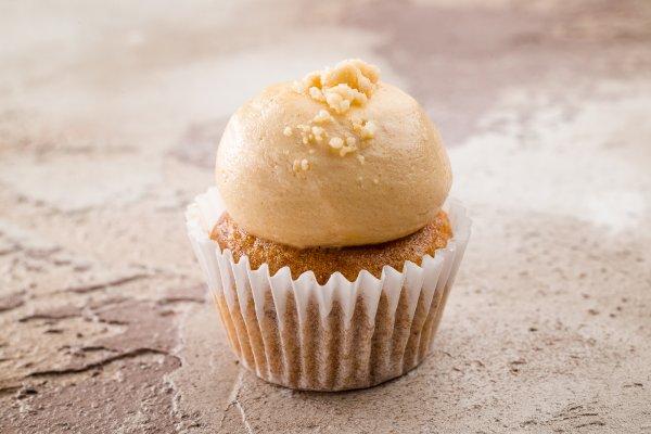 Mini cupcake banana & peanut