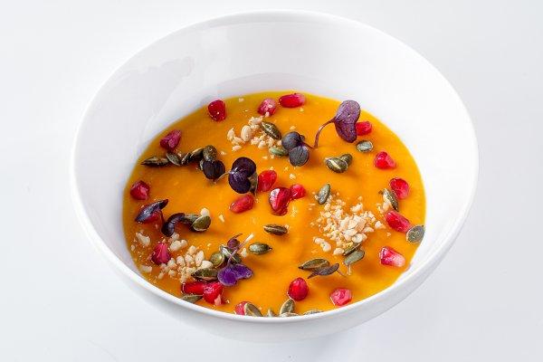 Pumpkin cream - soup