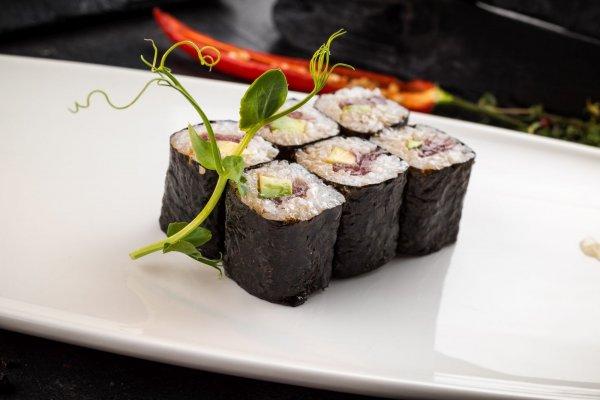 Roll with tuna