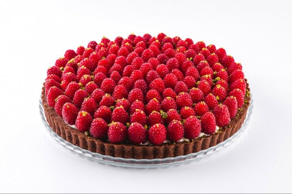 Raspberry chocotart
