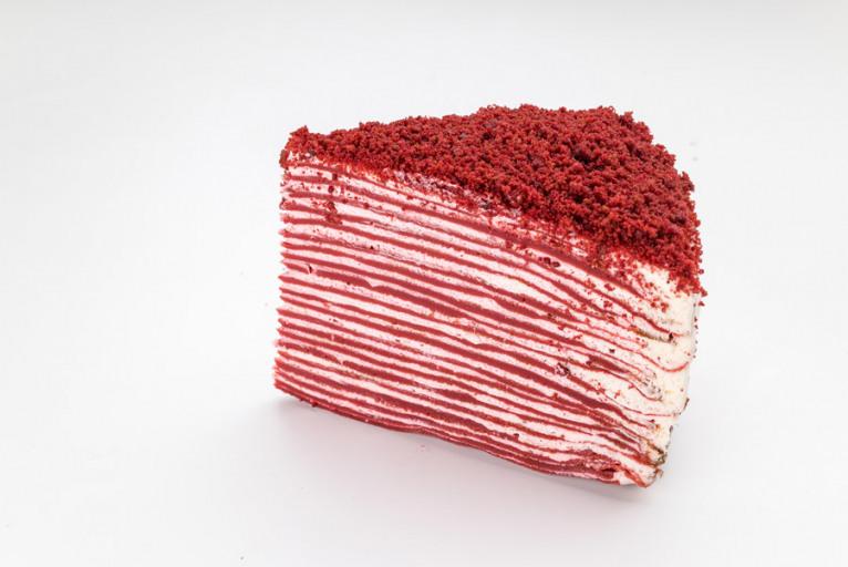 Торт красный бархат блинный