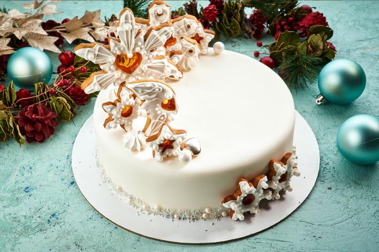 Торт «Снежная сказка»