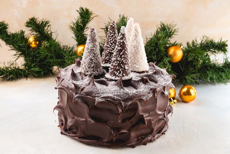Торт «Ночь перед Рождеством» (порция)