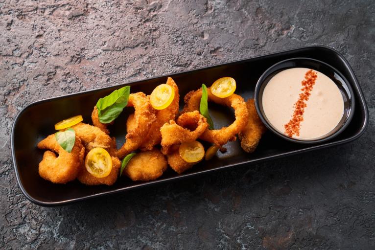 Фрито мисто из морепродуктов