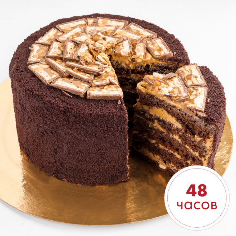 Сникерс торт 1,9 кг